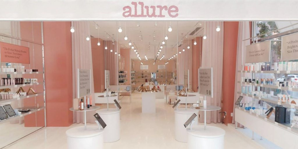 retail solutions allure store